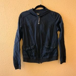Faded Black Active Jacket